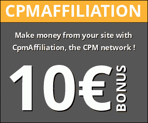 Cpm Affiliation : the cpm advertising network